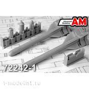 AMC72242-1 Advanced Modeling 1/72 Авиационная управляемая ракета Х-58МК с пусковой АКУ-58