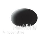 36108 Revell Аква-краска черная, матовая