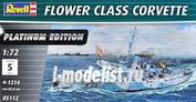 05112 Revell 1/72 Flower Class Corvette