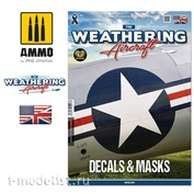 AMIG5217 Ammo Mig Magazine The Weathering Aircraft Issue 17. DECALS & MASKS (in English)