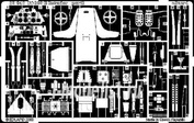 32046 1/32 Eduard photo etched parts for Bf 109E interior