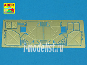 48 A10 Aber 1/48 Фототравление Rear boxes for Panther tanks & Jagdpanter