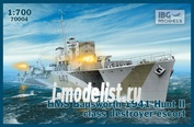 70004 IBG 1/700 HMS Badsworth 1941 Hunt II class