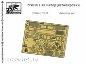 F72016 SG modeling 1/72 detail kit Z&L-157 (FTD)