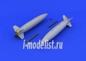 648221 Eduard 1/48 Набор дополнений  для  Mk.84 bombs retarded fin
