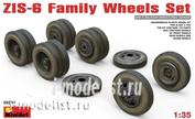 35201 MiniArt 1/35 wheel Family for Z&S-6