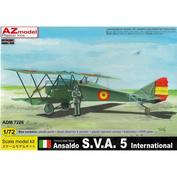 ADM7226 AZ Model 1/72 Ansaldo S.V.A. 5 InternationalAnsaldo S.V.A. 5 International