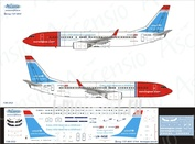 738-052 Ascensio 1/144 Scales the Decal on the plane Boeng 737-800 (Norwegian (Unicef))
