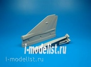 QB48 035 Quickboost 1/48 Conversion kit for MiG-21 MF vertical tail area