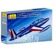 80220 Heller 1/72 Самолет Fouga CM 170