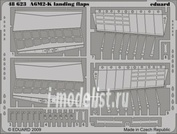 48623 Eduard 1/48 Фототравление A6M2-K landing flaps