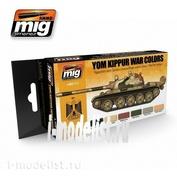 AMIG7113 Ammo Mig Набор акриловых красок YOM KIPPUR WAR COLORS SET