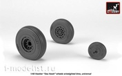 AW48415 Armory 1/48 wheel add-on Kit for Hawker