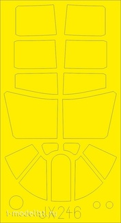 JX246 Eduard 1/35 Окрасочная маска для P-40N