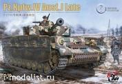BT-008 Border Model 1/35 Танк Pz.Kpfw.IV Ausf.J (Поздний)