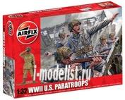 2711 Airfix 1/32 Американские парашютисты (U.S. Paratroops)