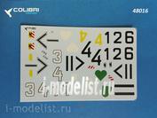 48016 ColibriDecals 1/48 Декаль для Fw-190 A4 Jg 54