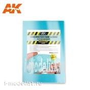 AK8098 AK Interactive Строительная пена 6 и 10 мм - голубая пена высокой плотности, 195 x 295 мм