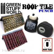 1417 Green Stuff World Инструмент для создания крыши / Miniature ROOF TILE Punch