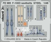 FE985 Edward 1/48 F-100D steel belts