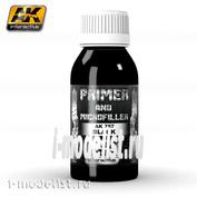 AK757 AK Interactive BLACK PRIMER AND MICROFILLER 100ml (black soil)