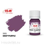 C1005 ICM Краска для творчества, 12 мл, цвет Тёмно-фиолетовый (Deep Purple)