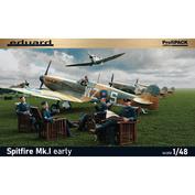 82152 Eduard 1/48 Истребитель Spitfire Mk. I early