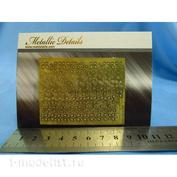 MD3509 Metallic Details 1/35 Фототравление Листья монстеры