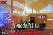 717 Roden 1/72 Vauxhall D-Type Ambulance