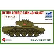 CB35010SP Bronco 1/35 British Cruiser Tank A34 'COMET' (Special Edition)