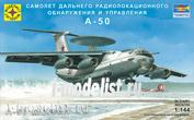 214461 Моделист 1/144 Самолет дальнего радиолокационного обнаружения и управления А-50