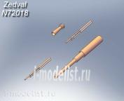 N72018 Zedval 1/72 Набор деталей для Т-26 обр. 1939г.