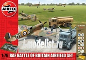 50015 Airfix 1/76 RAF Battle of Britain Airfield Gift Set
