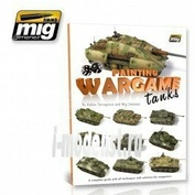 AMIG6003 Ammo Mig Книга PAINTING WARGAME TANKS ENGLISH (