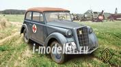 72505 Ace 1/72 1937 Olympia Staff Car (Cabriolet )