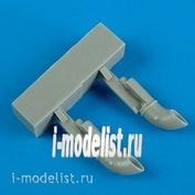 QB72 363 1/72 QuickBoost * Set of add-ons Swordfish Mk.I exhaust