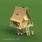 3506 1/35 Sbmodel Hut on chicken legs