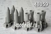 AMC48059 Advanced Modeling 1/48 РБК-250-275 разовая  бомбовая кассета АО-1 сч в снаряжении с осколочными боевыми элементами