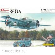 AZ7322 AZ Model 1/72 Самолёт G-36A