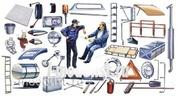 0764 Italeri 1/24 Truck Shop Accessories