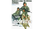 00415 Trumpeter 1/35 Modern U.S .Army Ch-47d Crew & Infantry
