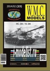 WMC-23 W.M.C. Models 1/25 Танк ИС-3М
