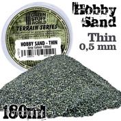 10013 Green Stuff World Песок, 180 мл цвет Серый / Fine Hobby Sand 180ml - Grey