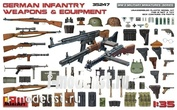 35247 MiniArt 1/35 German infantry automatic weapons and equipment