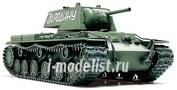 32535 Tamiya 1/48 Russian Kv-i Советский тяжелый танк, образца 1940г. С 76,2мм пушкой. 3 варианта декалей.