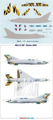72054 Propagteam 1/72 MiG 21 Dcs expert