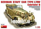 MiniArt 1/35 35107 German staff car Type 170V Convertible