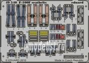 49540 Eduard 1/48 Фототравление для F-100F seatbelts