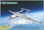 72024 ModelSvit 1/72 Самолет-перехватчик М-17
