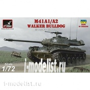72412 Armory 1/72 Американский танк M41A1/A2